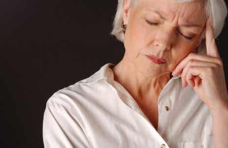 De psykologiske symptomer på overgangsalderen