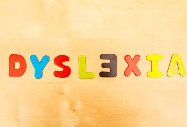 Sysleksi skrevet med bogstaver på engelsk