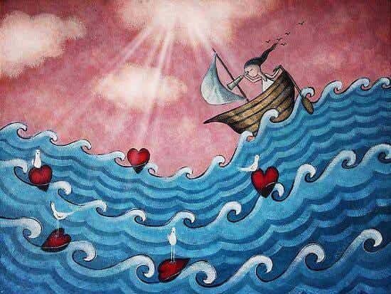 Dit hjerte er frit... Vær modig og lyt til det