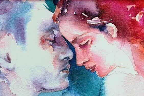 Der er ord, der kun rammer øret, og andre, der kysser sjælen
