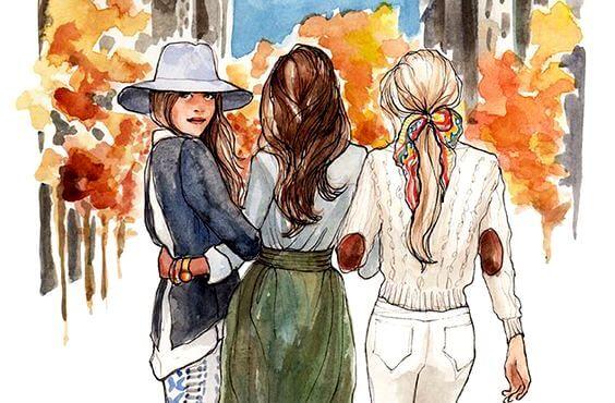 Søstre er forenet i hjertet