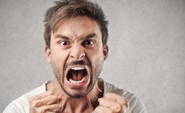 Vi bliver vrede, når vi mister kontrollen over os selv