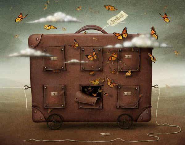Størrelsen af din bagage svarer til dine tilknytninger