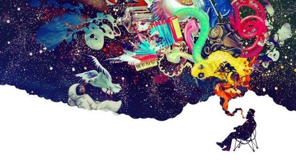 Mand udstråler kreativitet