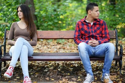 Store forhindringer i starten af et forhold