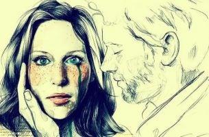 Mand sårer kvinde ved let berøring, da hun er eksempel på overfølsomme mennesker