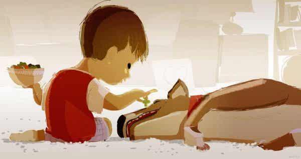 Det utrolige bånd mellem børn og dyr