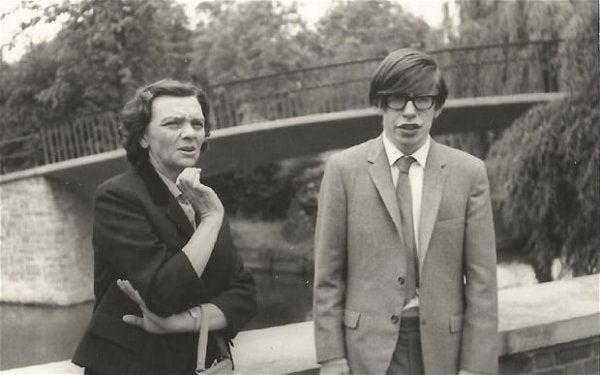 Stephen Hawking som ung