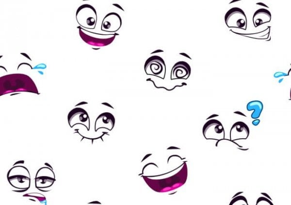 Hvide emojier