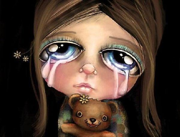 """Du må aldrig sige """"græd ikke"""" til et barn"""