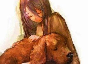Hund med pige