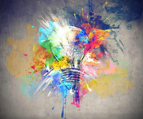 Kreativitet: en plante, vi skal pleje
