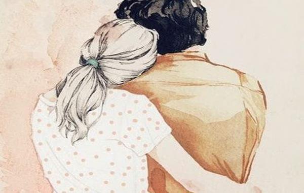 Et par krammer hinanden