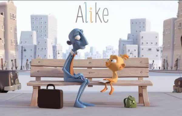 Alike: en kortfilm om, hvordan børns kreativitet forsvinder