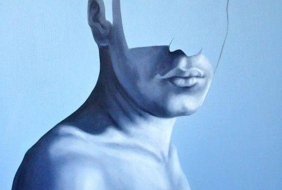 Mand uden ansigt