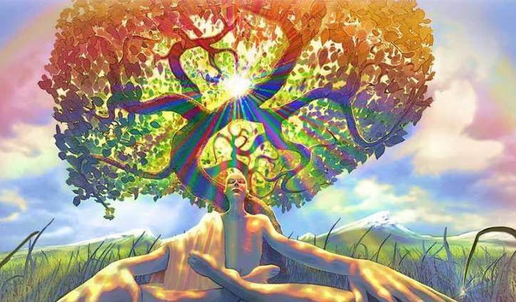 Person under træ ønsker at opnå større selvbevidsthed