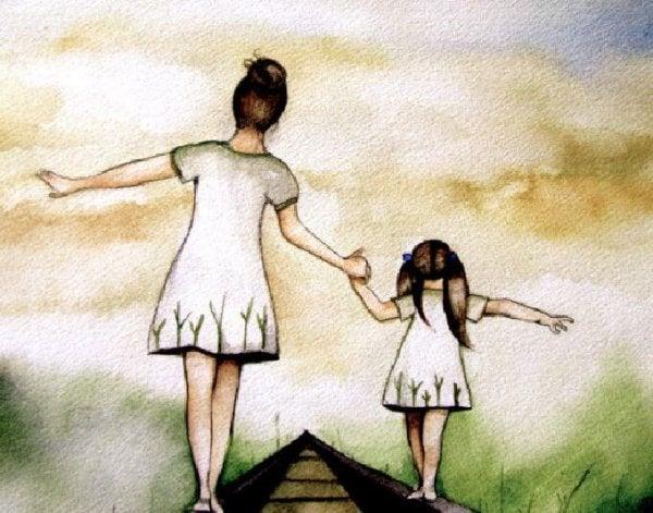 Mor går på line med datter, som ikke ønsker at opleve en moders smerte