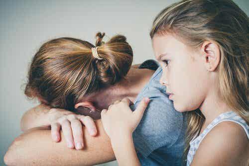Depression kan påvirke forholdet mellem mor og barn