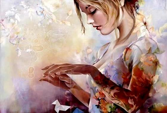 """Kvinde styrer dukker og tænker """"jeg skriver selv mit livs bog"""""""