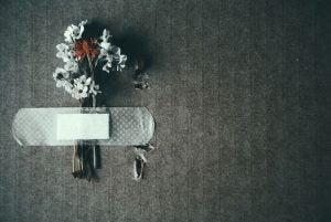 Plaster over blomster