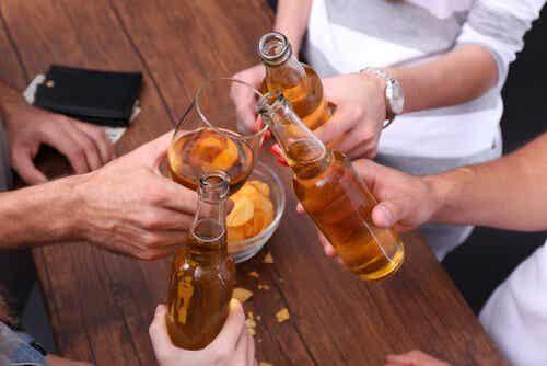 Den fine grænse mellem alkoholisme og en vane