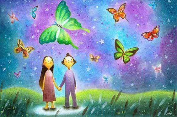 Hold ikke fast i kærlighed, håb eller frygt