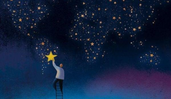 vi er flygtige, ikke stjernerne