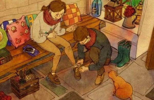 At behandle med sympati er at berøre sjælen med respekt
