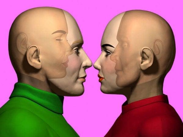 To personer kan læse hinanden på grund af empati