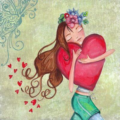 At være alene kan gøre dig til en glad person