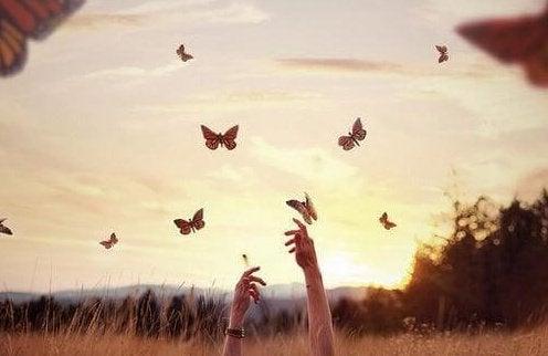 At vente på de gode ting; det, som kommer let, går let
