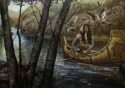 Sammen, men ikke bundet sammen: en Sioux-legende