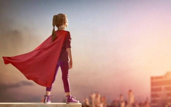 Lær dine piger at være modige i stedet for perfekte
