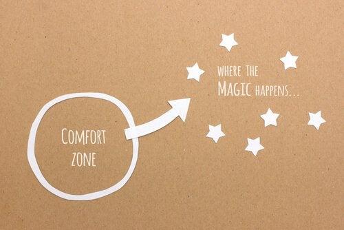 Man skal ud af sin komfortzone for at finde sand magi og ikke give op