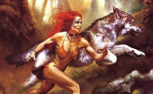 I enhver kvinde lever en ulv, en vild ånd der huser kraftig energi