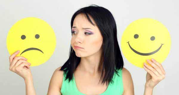 At forandre negative tanker til noget positivt