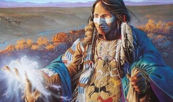 Sioux-legende belærer os om at være sammen i et forhold men ikke bundet sammen