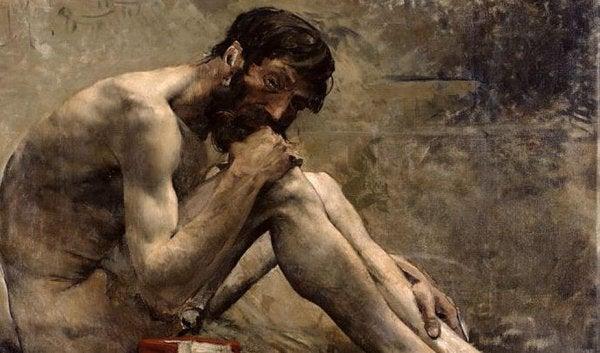 Diogenes lever simpelt liv som hunde