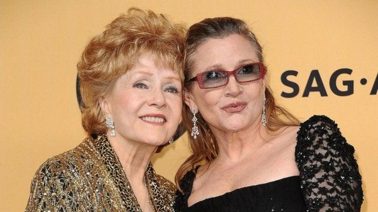 Carry Fisher og Debbie Reynolds