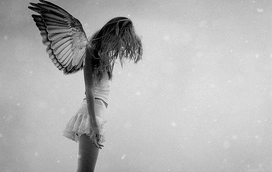 Engel med vinger