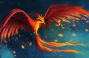 myten om føniksfuglen