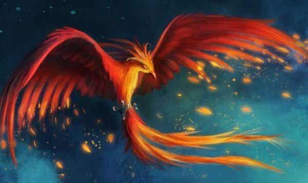 Myten om føniksfuglen: fantastiske modstandsdygtighed