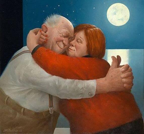 Kærlighed uden vedhæftning kan føre til et langt forhold