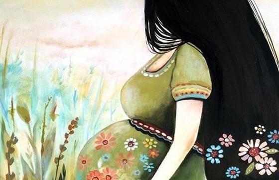Graviditet: at elske nogen, som du endnu ikke kender