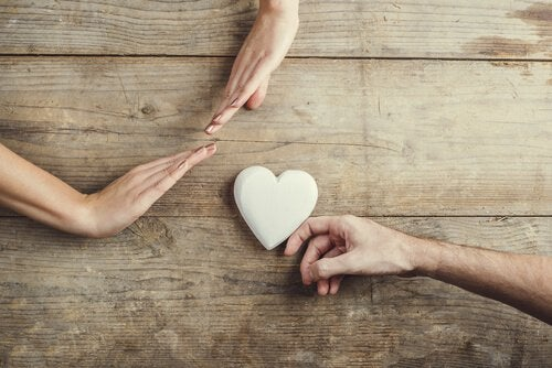 Person vil give hjerte, som bliver afvist