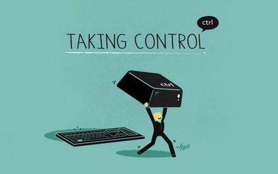 Jeg har brug for mig selv og tager kontrol over mig selv