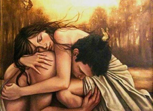 Min kærlighed til dig går udover vedhæftning og frygt for ensomhed