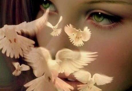 Kvinde bag fugle er træt af at vente på de gode ting i livet