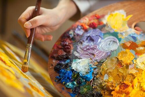 Kunst og maling kan få os til at bearbejde følelser