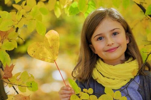 Et venligt barn er ofte et sundt og lykkeligt barn